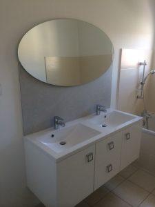 Installation de meuble double vasque